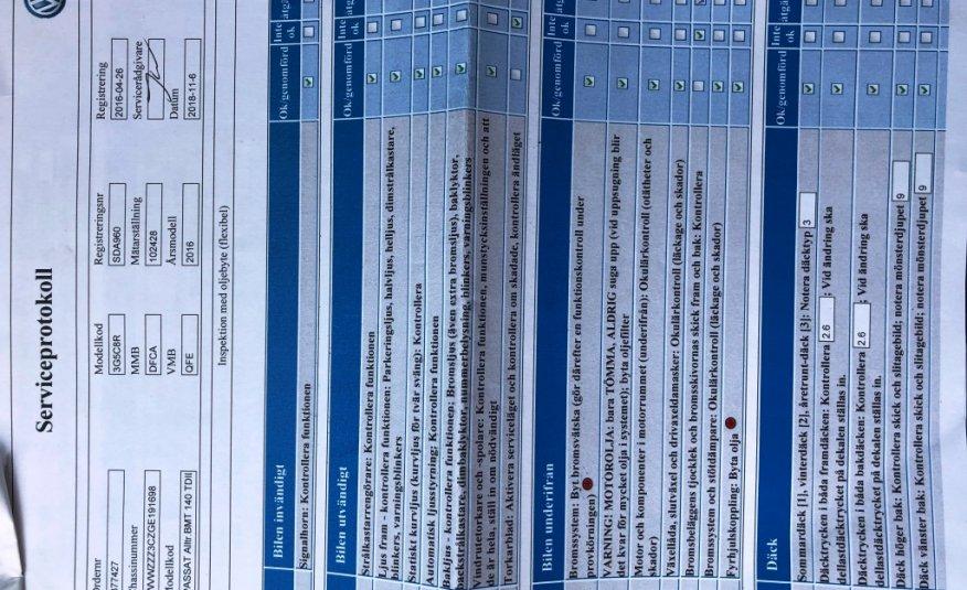 VOLKSWAGEN PASSAT ALLTRACK 2.0 TDI SCR BMT 4-MOTION