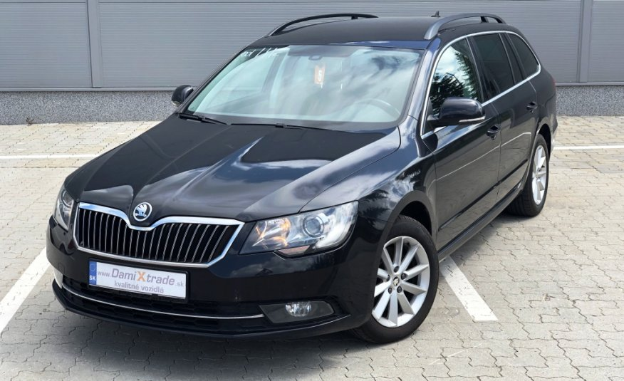 Škoda Superb Combi 2.0 TDI CR 140k Ambition