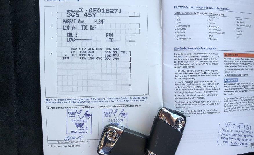VOLKSWAGEN PASSAT VARIANT 2.0 TDI BMT DSG